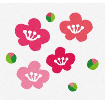 梅の花のイラスト | かわいいフリー素材集 いらすとや