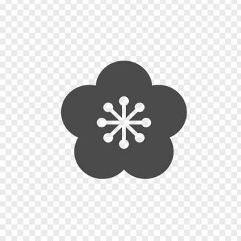 梅の花の無料アイコン | アイコン素材ダウンロードサイト「icooon-mono」 | 商用利用可能なアイコン素材が無料(フリー)ダウンロードできるサイト