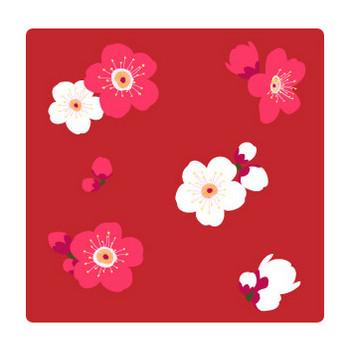 梅の花のパターン | 無料イラスト素材集|Lemon