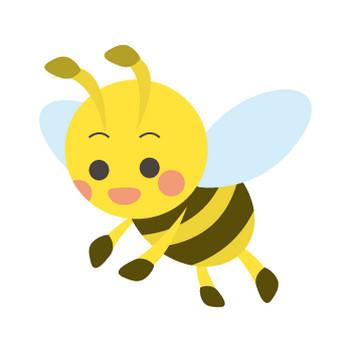 ミツバチのフリー素材|WEB・ホームページ素材、イラスト、壁紙、写真が無料でダウンロード