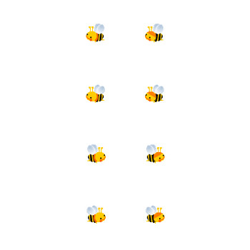 ミツバチのイラスト/フリー素材 無料イラスト