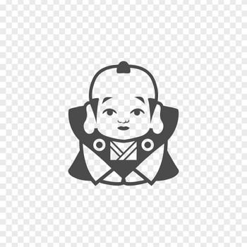 福助人形のフリーイラスト | アイコン素材ダウンロードサイト「icooon-mono」 | 商用利用可能なアイコン素材が無料(フリー)ダウンロードできるサイト