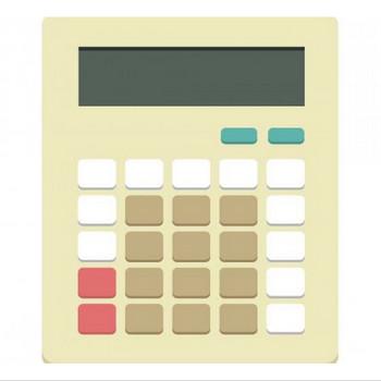 電卓 | SOZAIC.com【ソザイック】 フリーのイラスト素材と制作に役立つブログ情報サイト