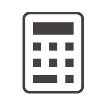 計算機・電卓のアイコン03素材 | 無料のアイコンイラスト集 icon-pit
