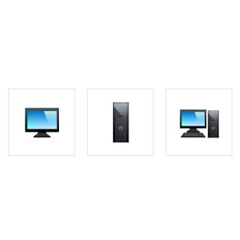 アイコン素材: PC機器・メディアアーカイブ