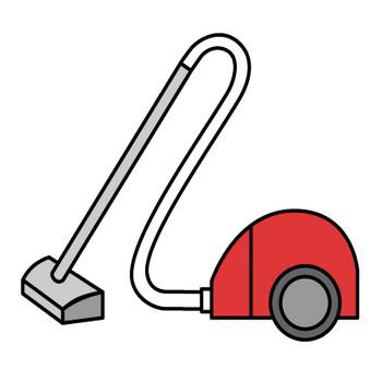 掃除機の無料イラスト素材|イラストイメージ