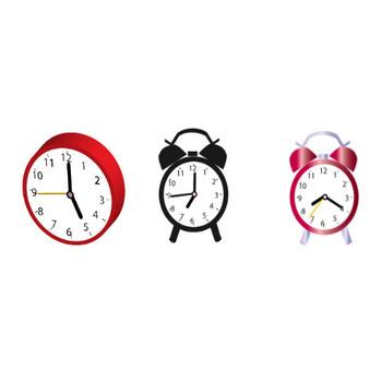 時計の無料イラスト
