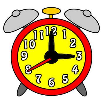 目覚まし時計のイラスト|フリーイラスト素材 変な絵.net