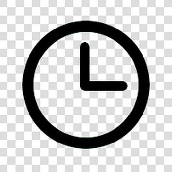 【フリーアイコン】 時計