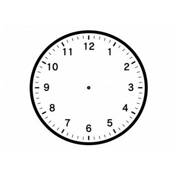 時計の文字盤のイラスト | イラスト無料・かわいいテンプレート