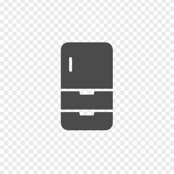 冷蔵庫のフリーアイコン4 | アイコン素材ダウンロードサイト「icooon-mono」 | 商用利用可能なアイコン素材が無料(フリー)ダウンロードできるサイト