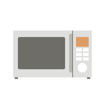電子レンジ(オーブンレンジ)のイラスト | 無料フリーイラスト素材集【Frame illust】