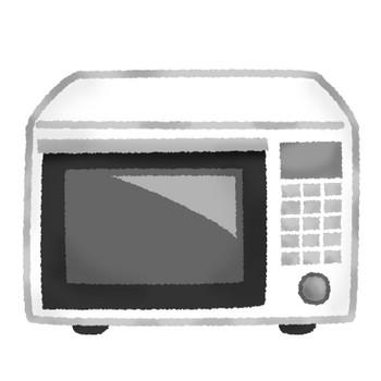 電子レンジ | フリーイラスト素材 イラストラング