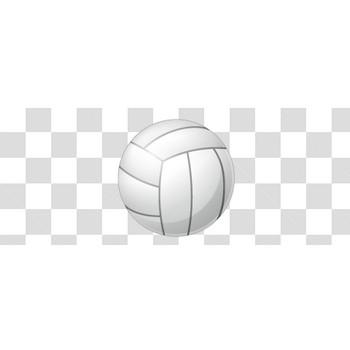 バレーボールのフリーイラスト素材
