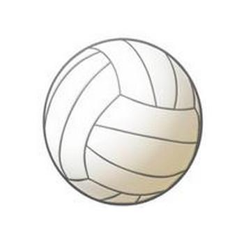 バレーボールの球 イラスト素材: KMsysフリー素材集Blog