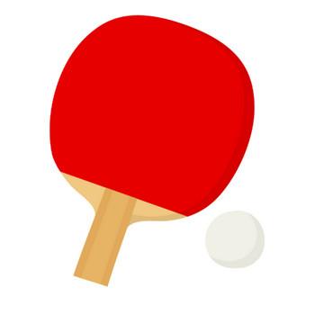 卓球のラケットのイラスト | 無料のフリー素材 イラストエイト