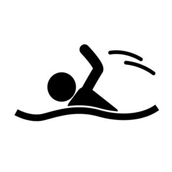 水泳 - ピクトグラム - フリー素材