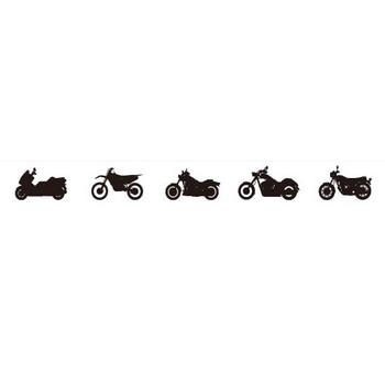 バイクのシルエット | シルエットデザイン
