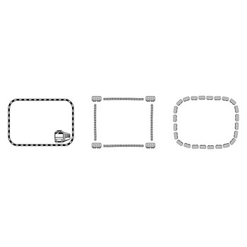 乗り物のフレーム | 無料イラスト かわいいフリー素材集 フレームぽけっと