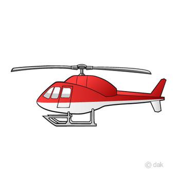 ヘリコプターの無料イラスト素材|イラストイメージ