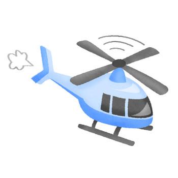 ヘリコプター | フリーイラスト素材 イラストラング