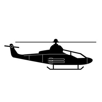 ヘリコプター|乗物イラスト|無料|ダウンロード