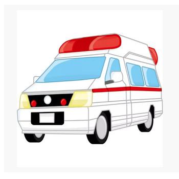 医療 救急車(カラー) – 無料イラスト・PowerPointテンプレート配布サイト【素材工場】