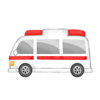 救急車 | フリーイラスト素材 イラストラング