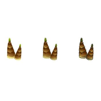 無料素材の『季節・行事素材のイラスト市場』春素材・筍(たけのこ)のイラスト