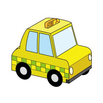 12月3日個人タクシーの日-タクシーのイラスト 無料ビジネスイラスト素材のビジソザ