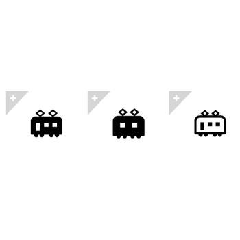 電車 | アイコン素材ダウンロードサイト「icooon-mono」 | 商用利用可能なアイコン素材が無料(フリー)ダウンロードできるサイト