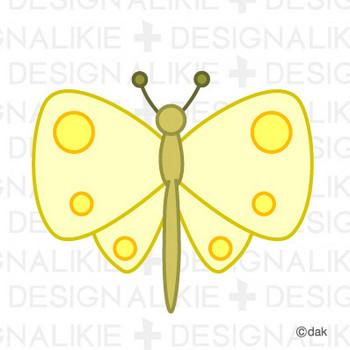 蝶フリーの無料イラスト素材|dakIMG