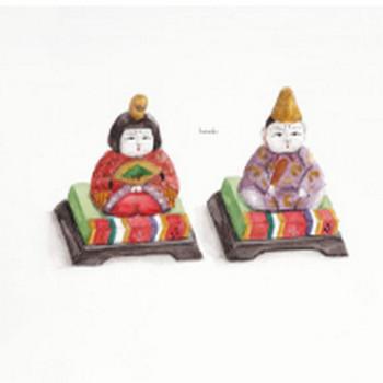 ひな祭り   フリーイラスト素材 コムマール-sozai-