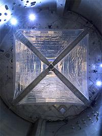 A four-quadrant solar sail system