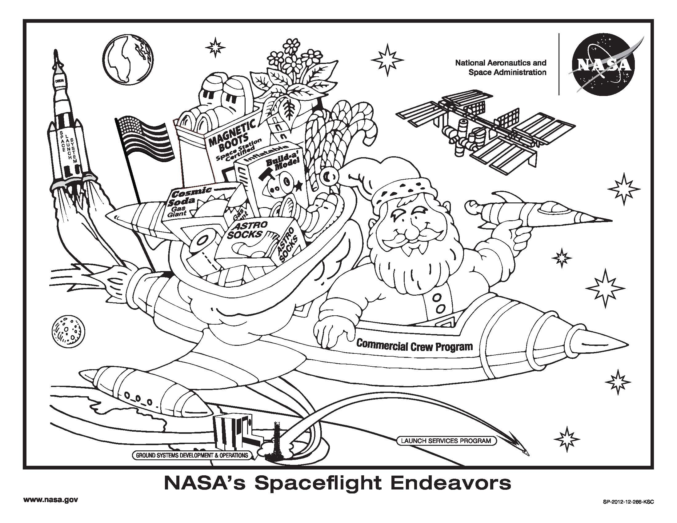 Astronaut Main Idea Worksheet