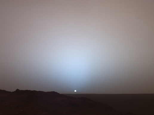 Mars Sunrise NASA source