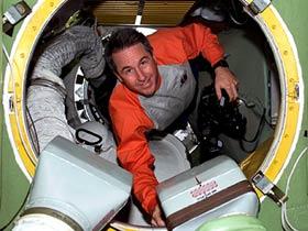 Steve Robinson - astronauta dello Shuttle e primo podcaster spaziale