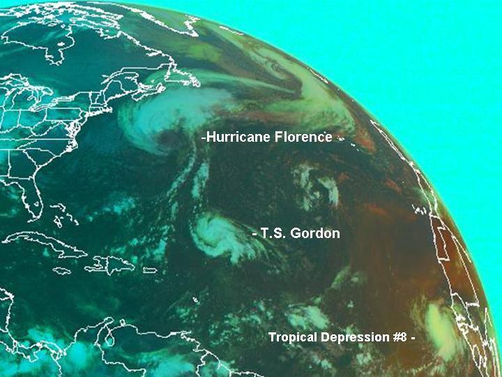 Tropical Storm Gordon Satelllite