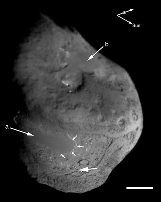 Comet Tempel 1 Composite Map
