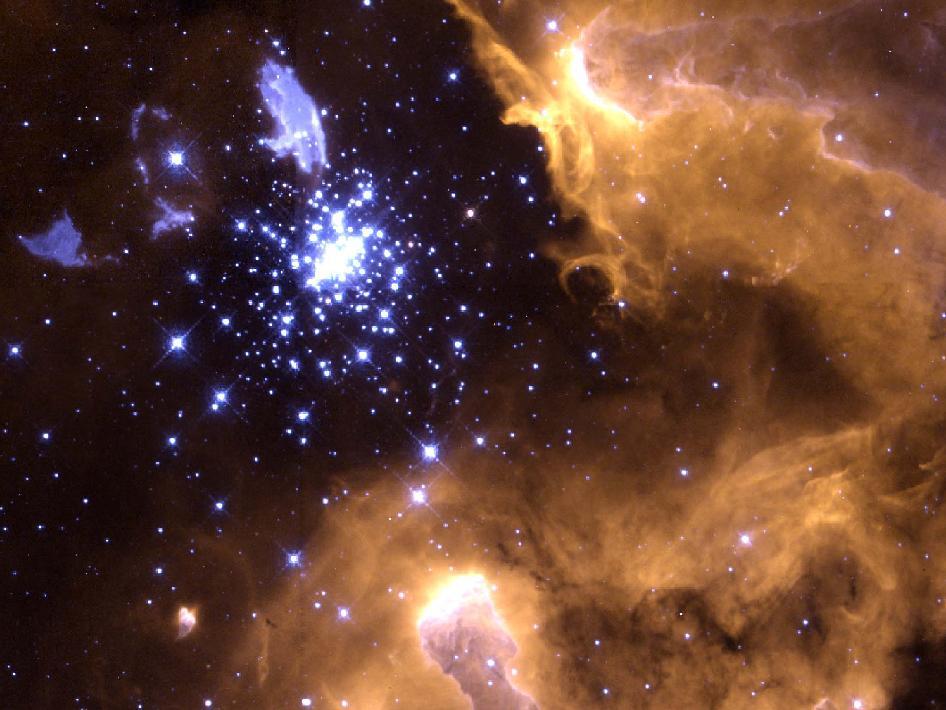 Galactic nebula NGC 3603