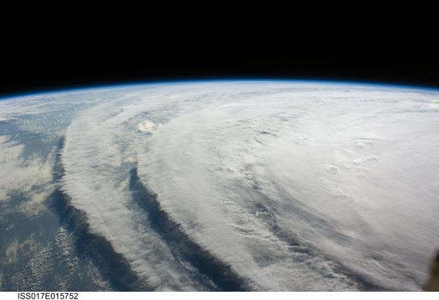 ISS017-E-015752 -- Hurricane Ike