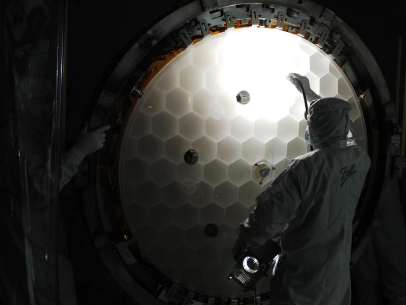 Hubble Space Telescope Main Mirror, Honeycomb structure