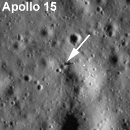 Apollo 15 - site alunissage