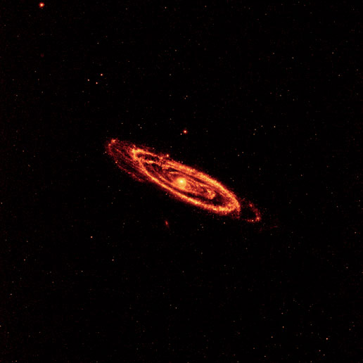 Andromeda at 12 and 22 microns