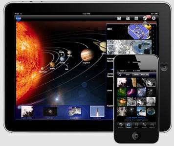 NASA's new app for the iPad