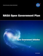 The Cover of the NASA Open Government Plan