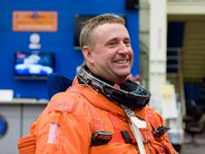 Ken Ham, commander of Space Shuttle Atlantis, on STS-132 - NASA photo