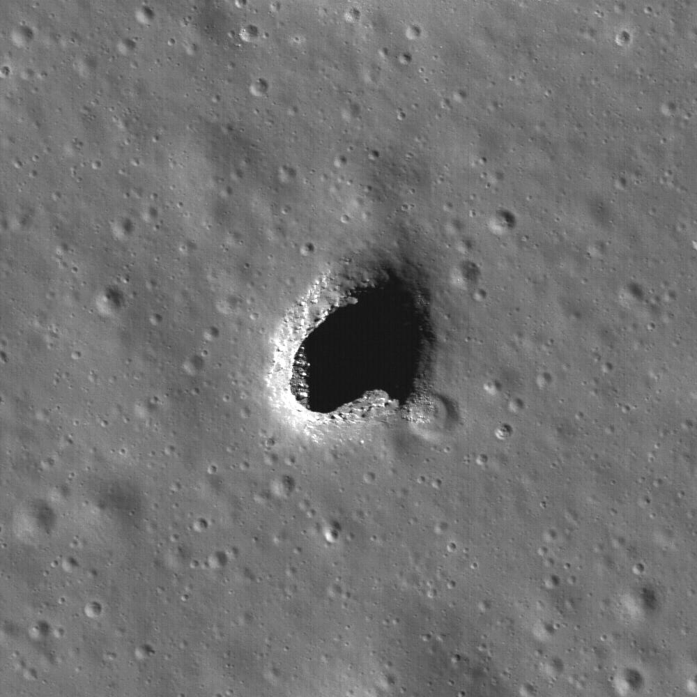 Entradas a cavernas subterraneas en Marte ¿…?