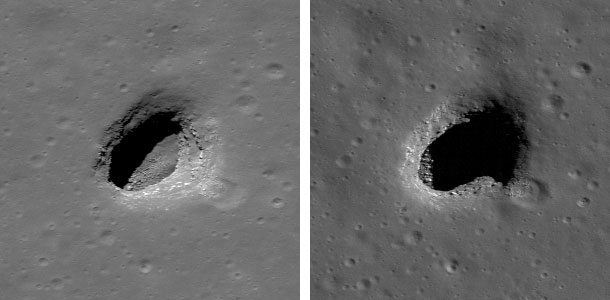 482308main 20100914 2b - Entradas a cavernas subterraneas en Marte ¿…?