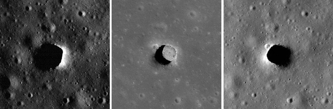 482310main 20100914 3b - Entradas a cavernas subterraneas en Marte ¿…?